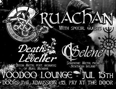 Death The Leveller gig