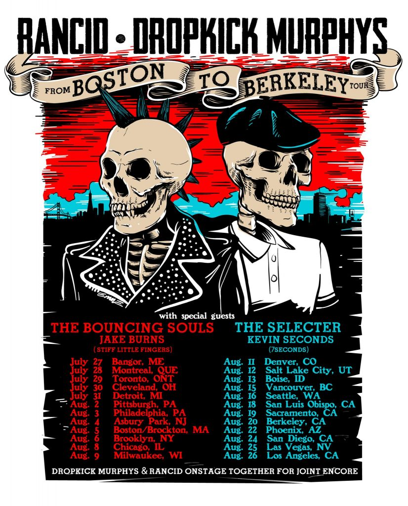 Rancid Tour with Dropkick Murphys