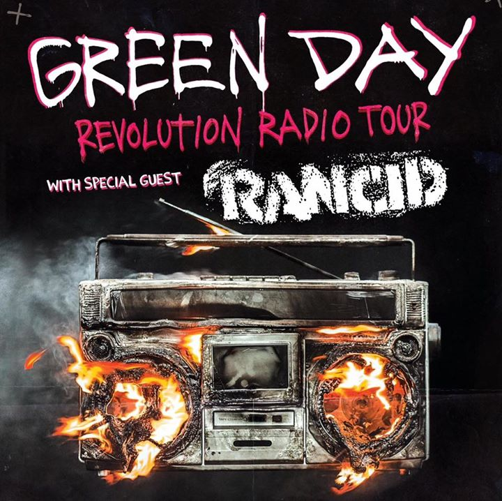 GREEN DAY : RANCID POSTER