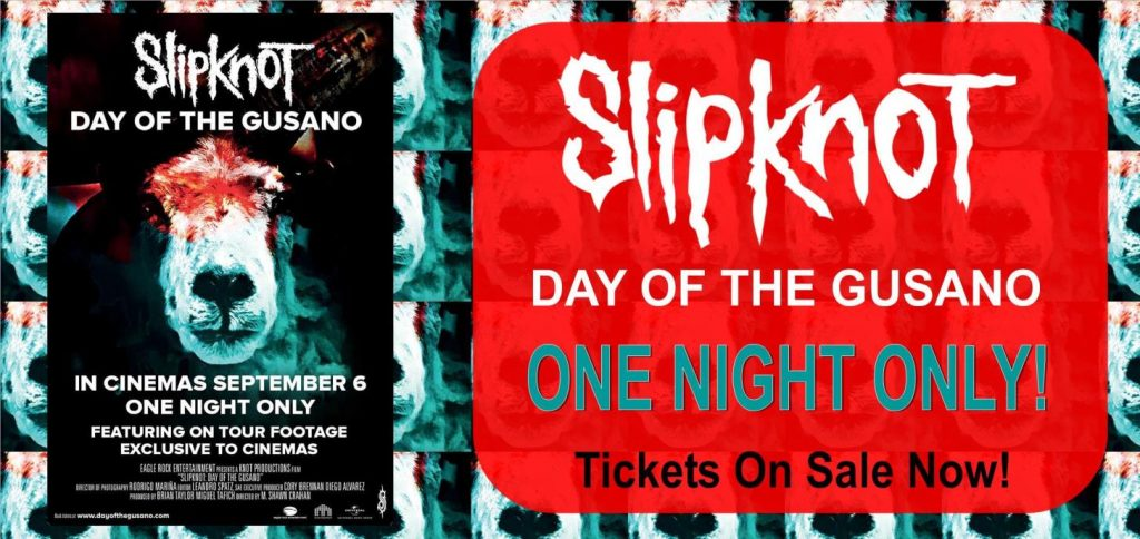 Slipknot day of the gusano banner