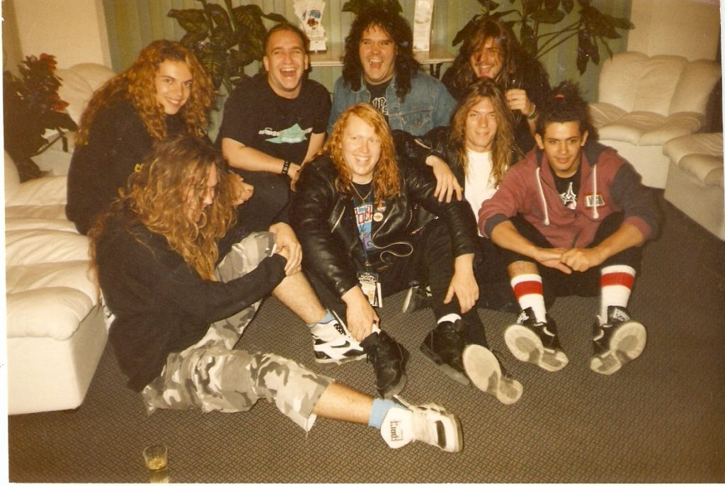 Sacred Reich with Sepultura 91.