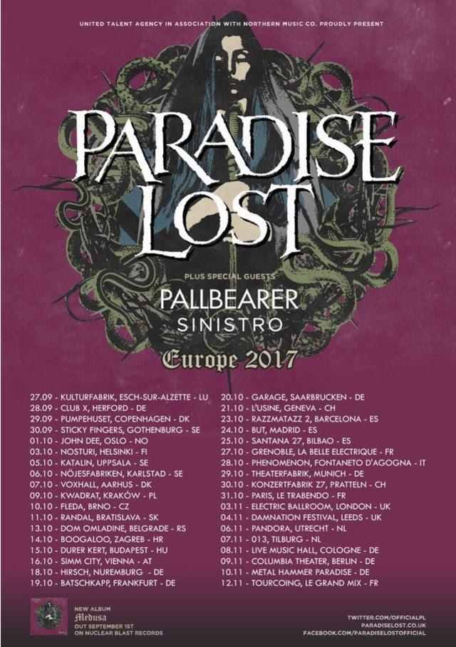 PARADISE LOST TOUR 2017