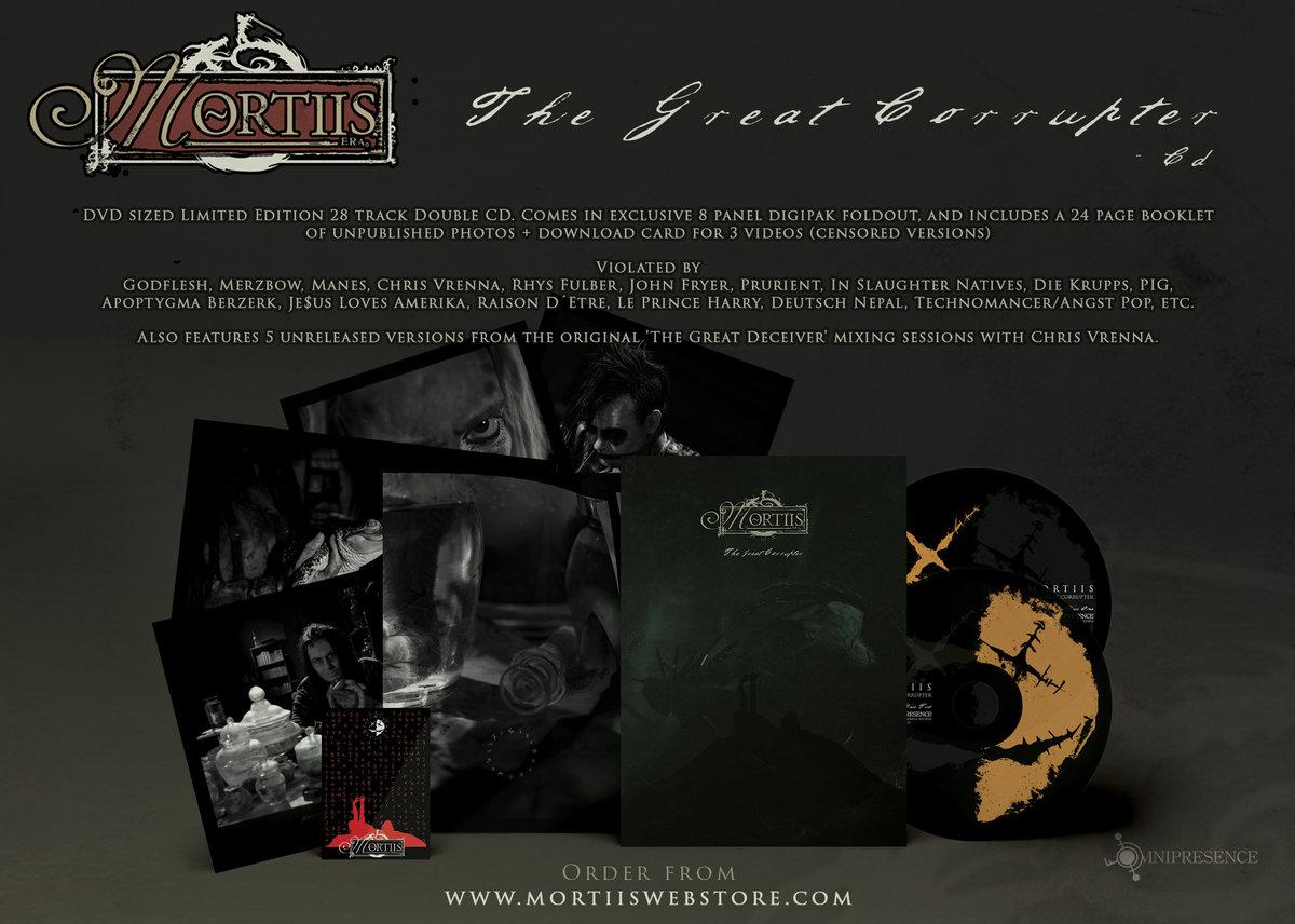 mortiis the great deceiver album banner - Overdrive