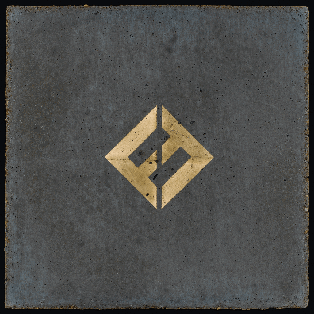 Foo Fighters Gold and Concrete