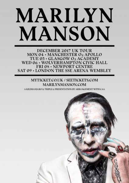 Marilyn-Manson-UK-Tour-in-December-2017
