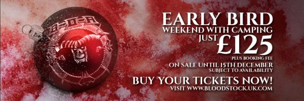 Bloodstock Early Bird Banner