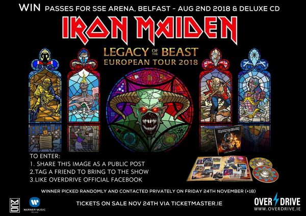 IRON MAIDEN COMP 2018 BELFAST