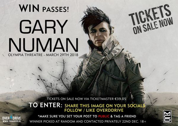 GARY NEWMAN COMPETITION