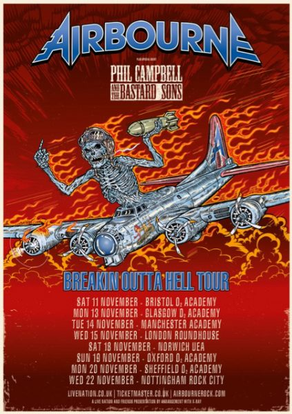 phil campbell : airbourne