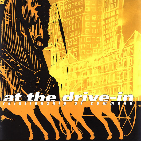 AT THE DRIVE-IN RELATIONSHIP OF COMMAND