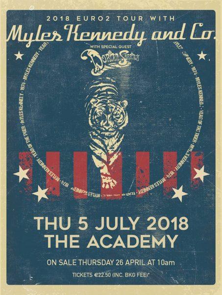 Myles Kennedy Dublin Academy