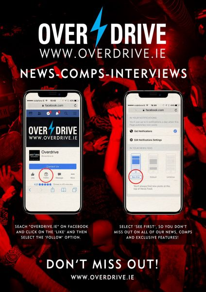 OVERDRIVE MOBILE FOLLOW BANNER