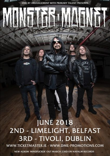 Monster Magnet Ireland 2018