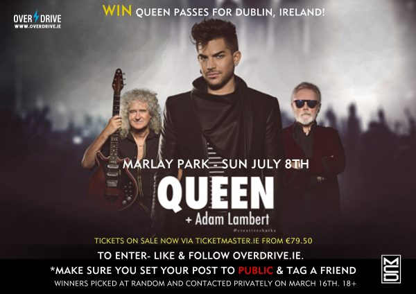 QUEEN comp dublin