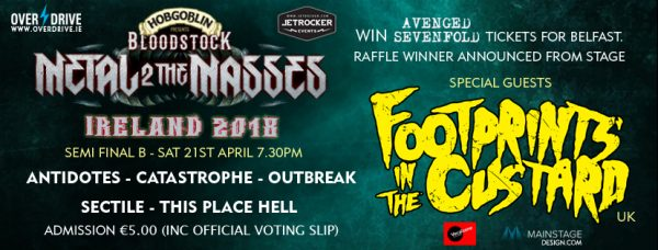 REVIEW: BLOODSTOCK METAL 2 THE MASES IRELAND - SEMI FINAL B 21/04/18