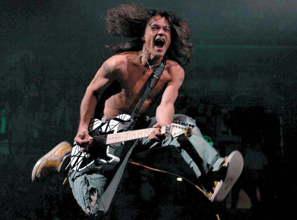 Eddie VanHalen playing bass makes you a better guitar player musician songwriter