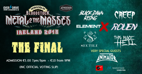 Click here to support the biggest night in homegrown Irish Metal!