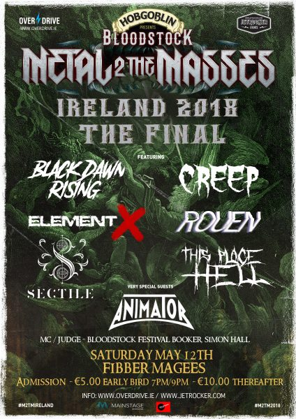 METAL 2 THE MASSES FINAL 2018