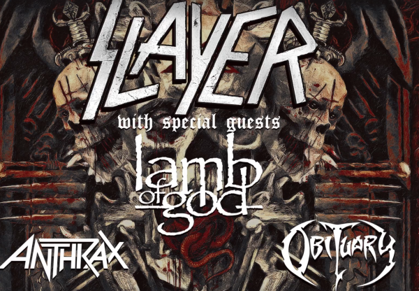 Slayer UK Ireland 2018