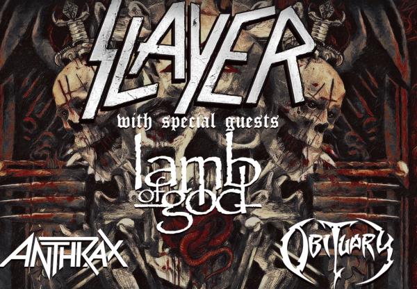 Slayer tour dates in Perth