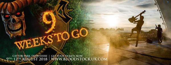 Click here for Bloodstock Tickets. Get 'em while you can.