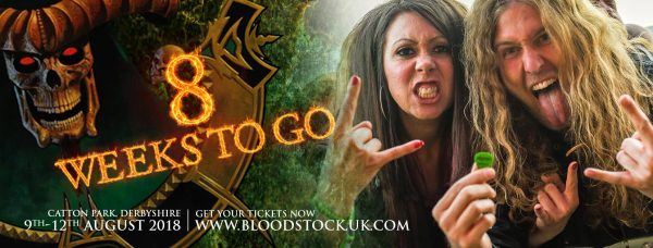 Click here for fast access tickets to Bloodstock 2018. Get 'em before it's too late!!