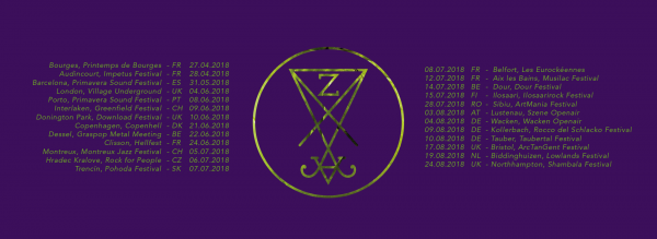 Zeal & Ardor tour dates