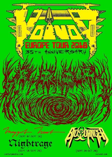 VOIVOD TOUR