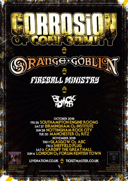 Orange Goblin, Corrosion of Conformity