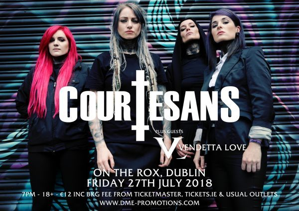 Courtesans dublin poster
