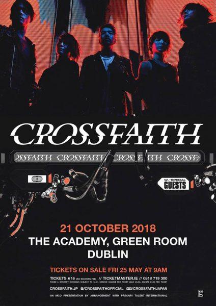 Crossfaith Dublin show