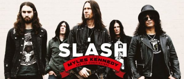 Slash Featuring Myles Kennedy and The Conspirators Announce European