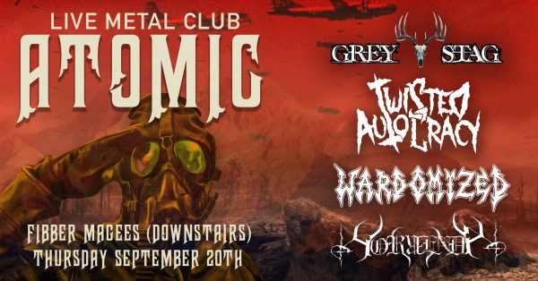 Click here or details on ATOMIC METAL CLUB!