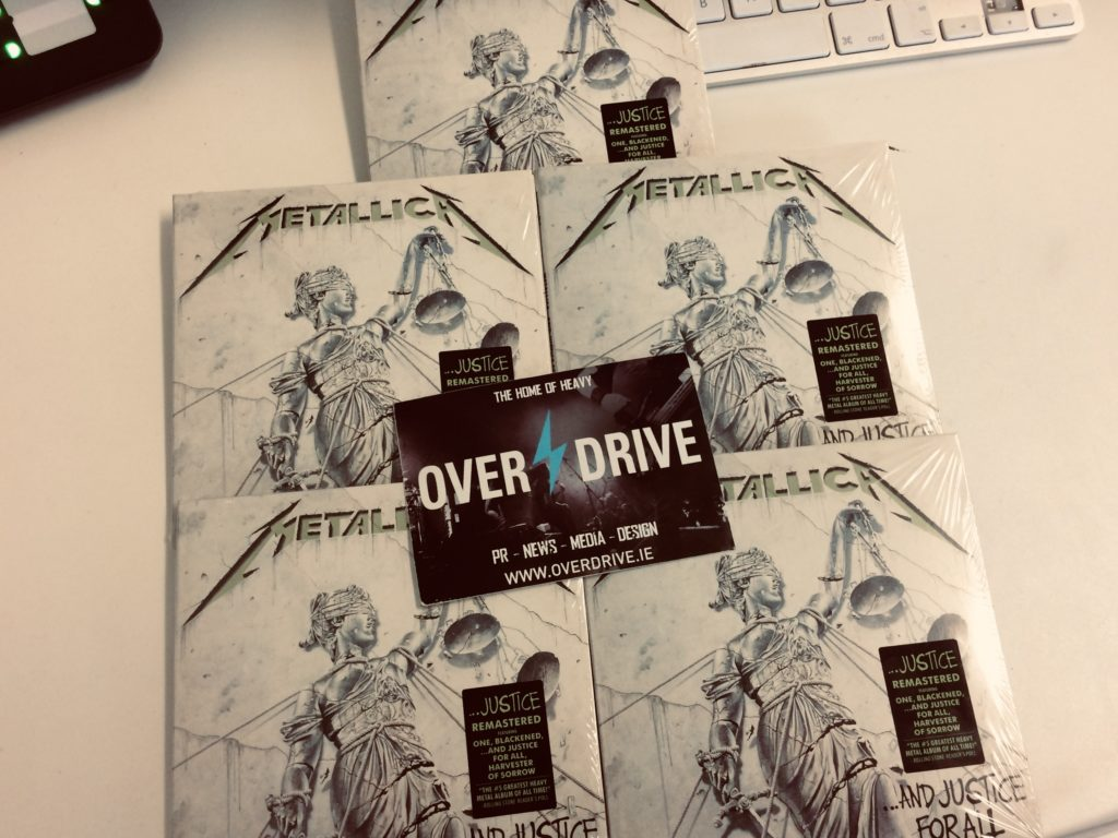 Win Remastered Copies Of And Justice For All Overdrive