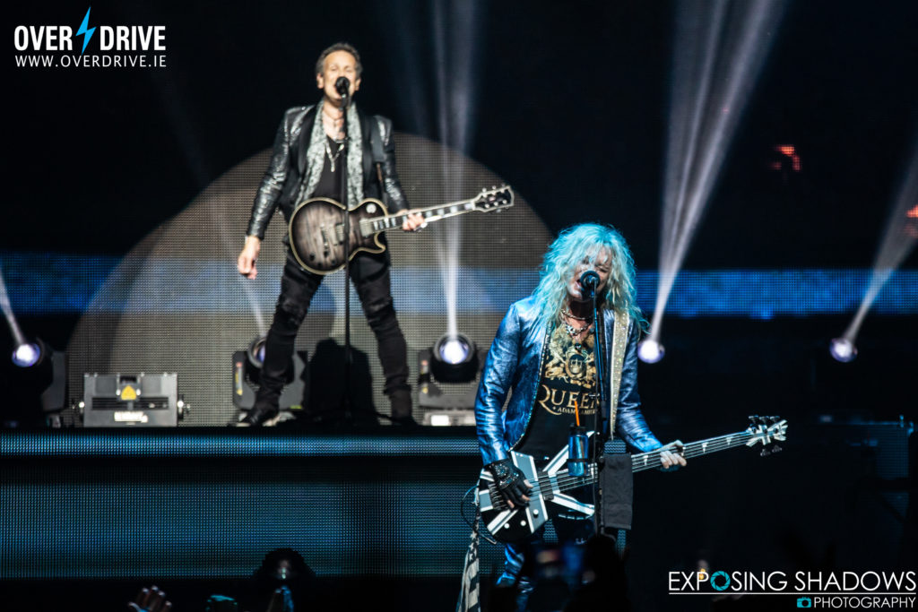 REVIEW - DEF LEPPARD/CHEAP TRICK 3ARENA DUBLIN, IRELAND 01