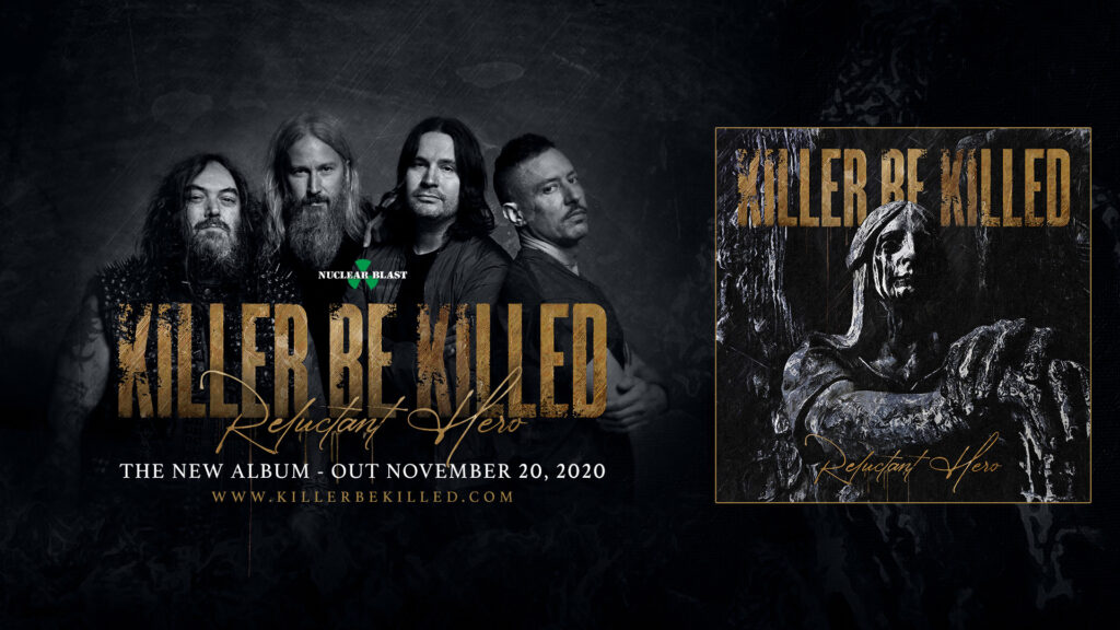 killer be killed promo sell banner